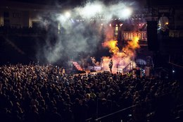 Hairball Concert at the Ralph Engelstad Arena