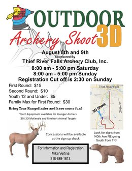 2020 Fall Outdoor 3D Archery Shoot