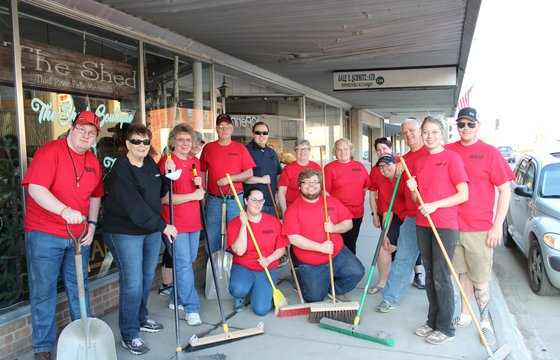 TRF Downtown Clean-up Day